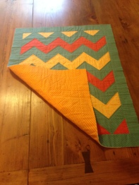 Quilted with backing