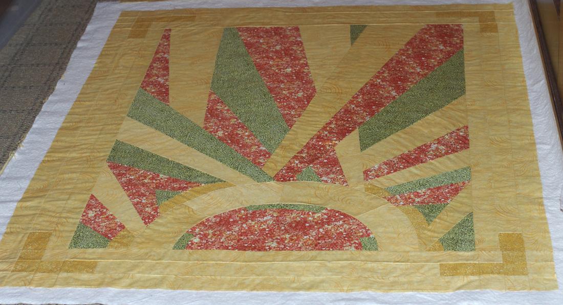 Art deco quilt update | clothworkers : art deco quilt - Adamdwight.com